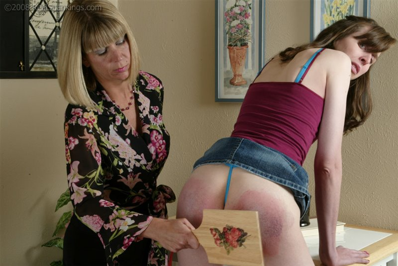 Helen in the video: Helen Asks For Help With Her Attitude - realspankings - SD/RM