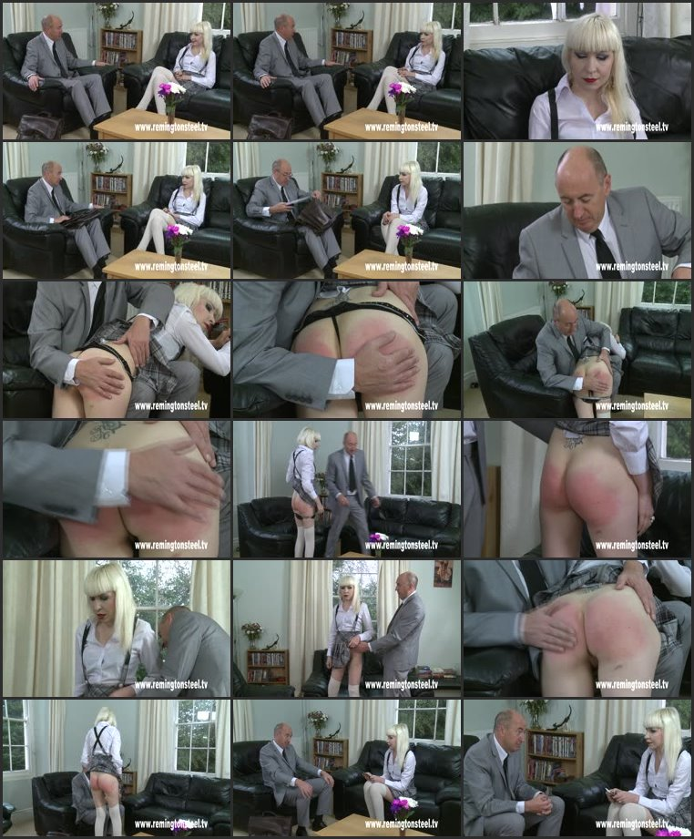 Screenlist Tina sttrapped for cash - english-spankers - SD/WMV