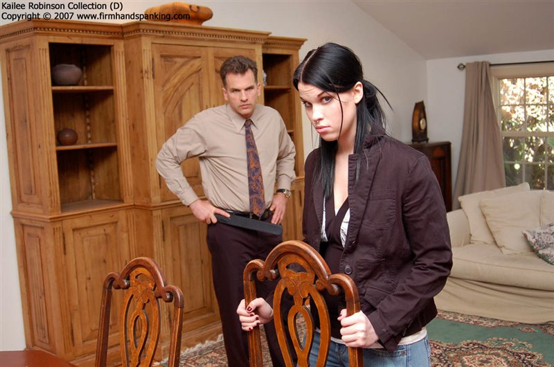 Cover Bare Bottom Strapping - firmhandspanking - LQ/RM
