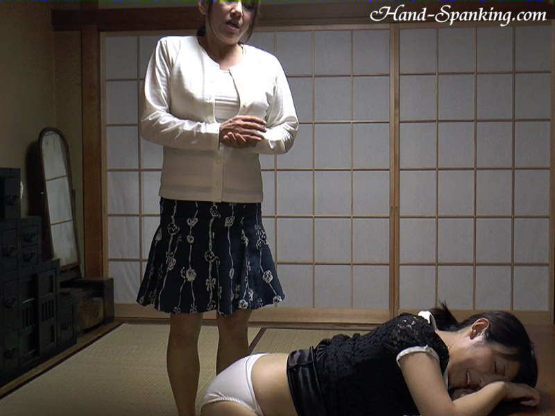 Sora, Ikumi in the video: Divorcee Spanking Chapter Ll - hand-spanking - SD/WMV