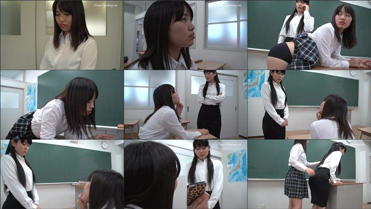 Screenlist Teacher Receives A Lesson From Her Student - hand-spanking - HD/WMV