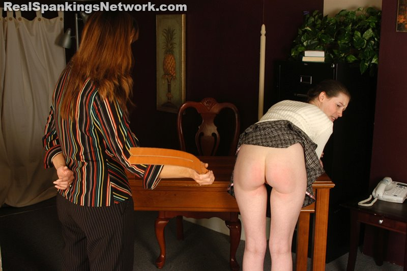 Ms. Baker Finds Bailey in Her Office - spankingbailey - SD/RM - image1