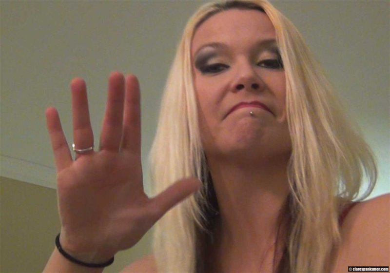 Kordi the Babysitter Spanks Young Boy Day 2 - clarespanksmen - HD/WMV - image1