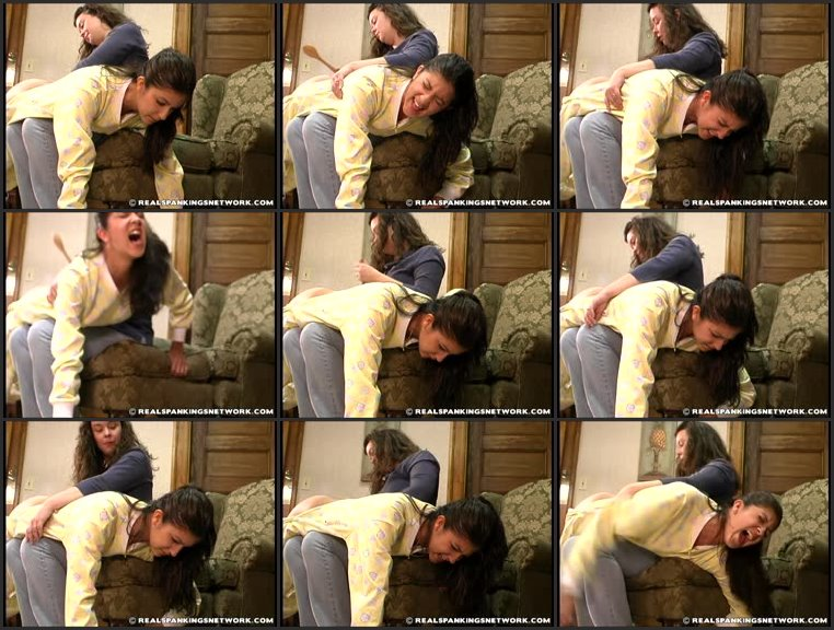 Screenlist Brandi Spanked for Inappropriate Clothing (Part 2) - spankingteenbrandi - SD/RM