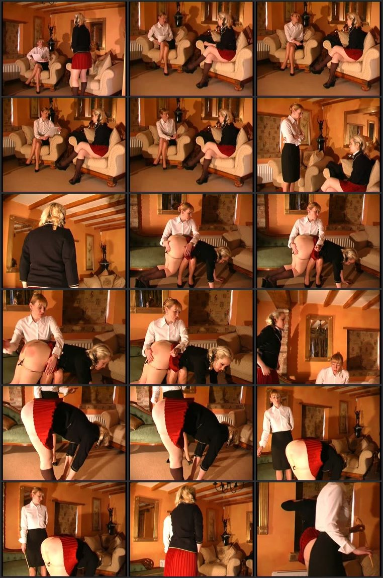 Screenlist Blonde Spanked - canedschoolgirls - SD/MP4