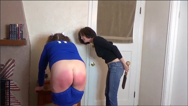 Cover Daughter Punished For Lesbian Behavior - danakanespanks - Full HD/MP4