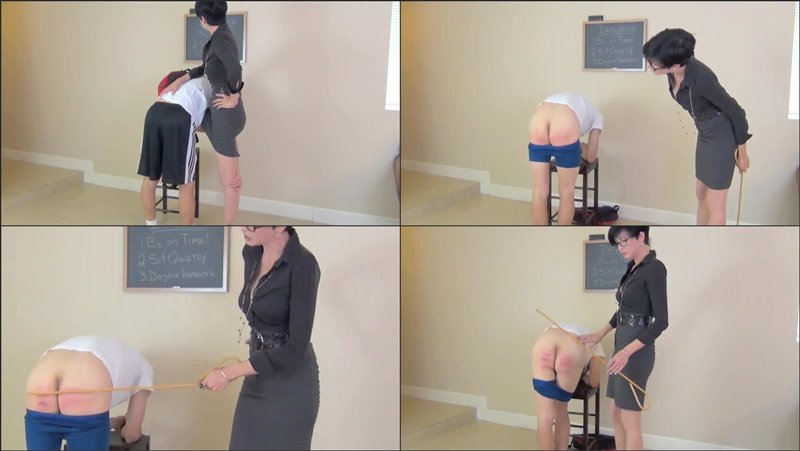 Detention Caning - danakanespanks - HD/MP4 - image1