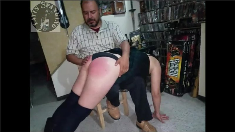 Daniella's Hard Punishment Till She Cries 4 (for Not Answering The Cell Phone) - latin spanking - Full HD/MP4 - image1