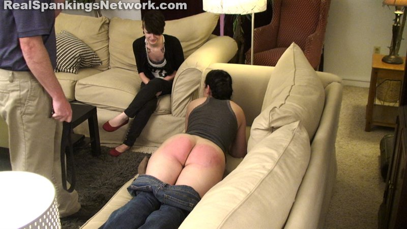 Spanked With The Belt (part 1 Of 2) - realstrappings - Full HD/RM - image1