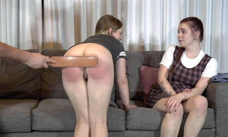Cover Sisters Spanked By Daddy - aaaspanking - Full HD/MP4