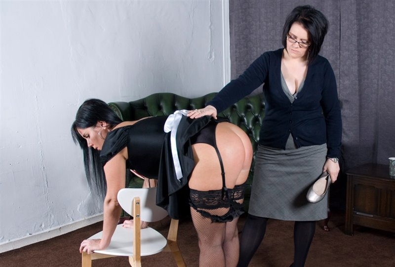 Lisa The Lazy Maid Spanked And Slippered To Tears - thelazymaid - SD/MOV - image1