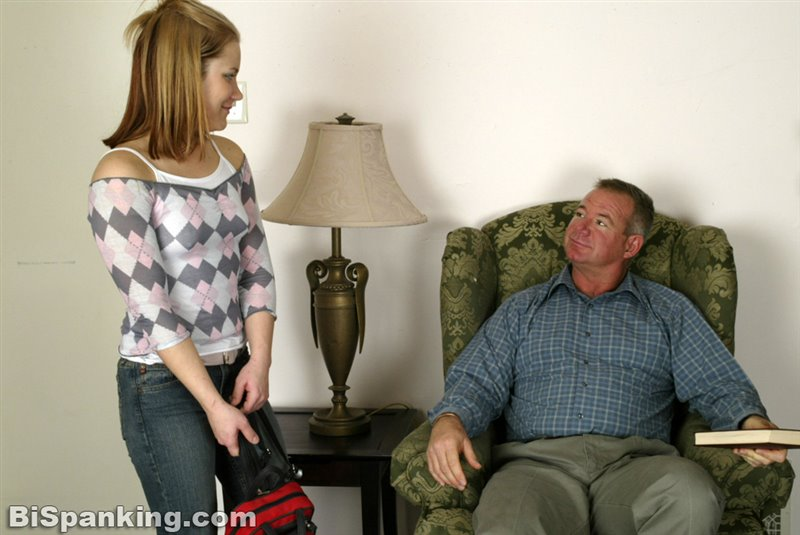 Claire Spanked For Coming Home Late - bispanking - SD/RM - image1