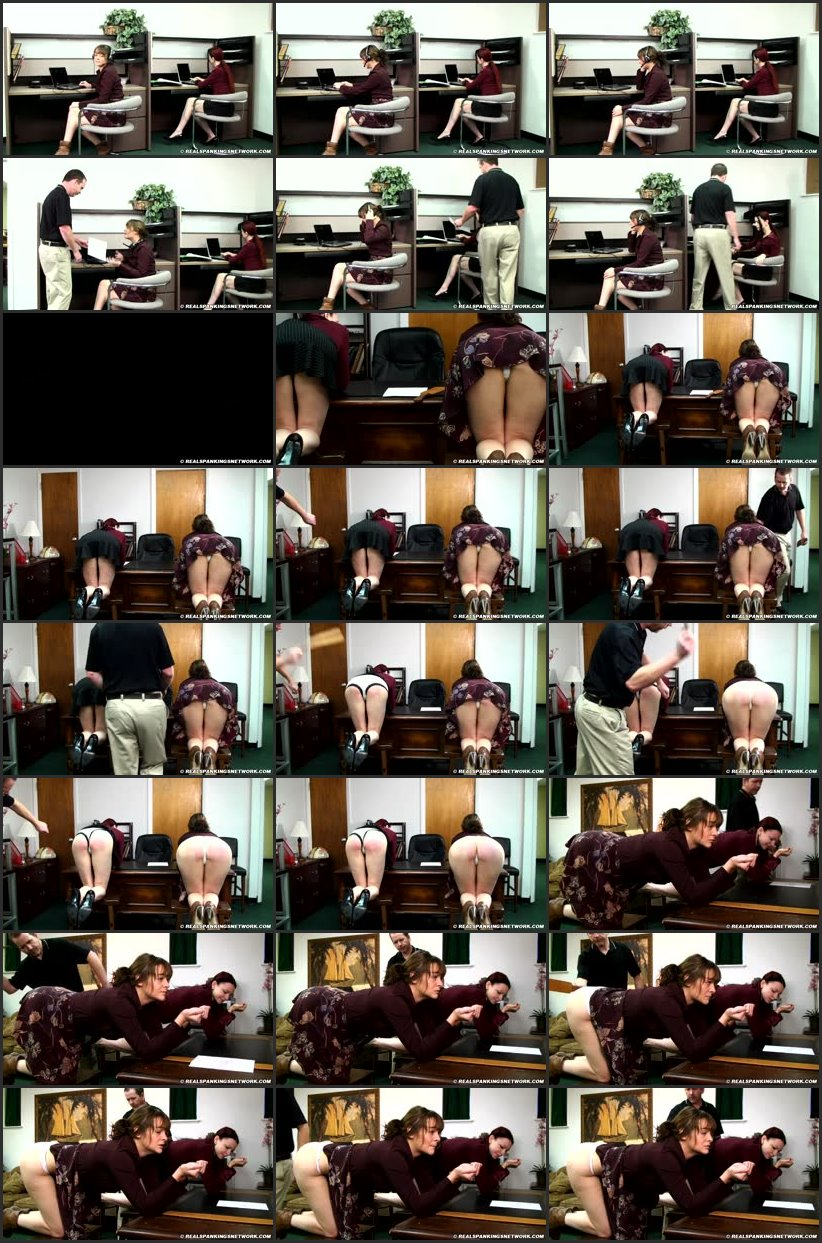 Screenlist - Spanked Secretaries (part 1) - realstrappings - HD/RM
