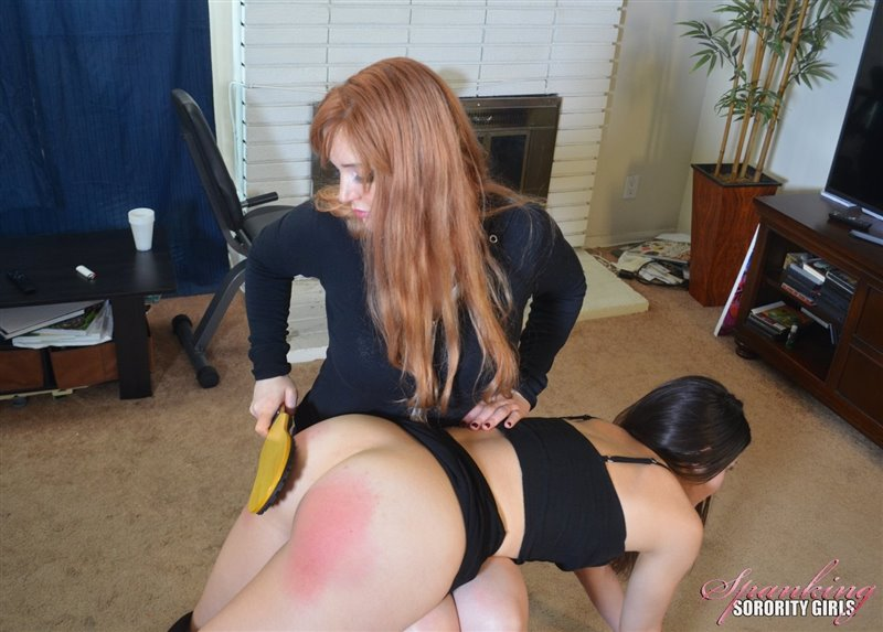 Cover Veronica Spanks & Paddles Arielle - spankingsororitygirls - Full HD/MP4