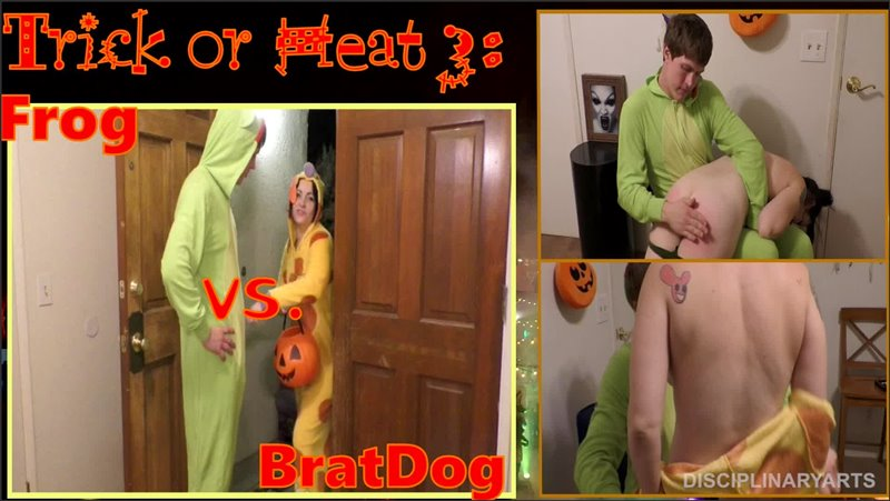 Trick Or Heat 3: Frog Vs. Bratdog - disciplinaryarts - Full HD/MP4 - image1