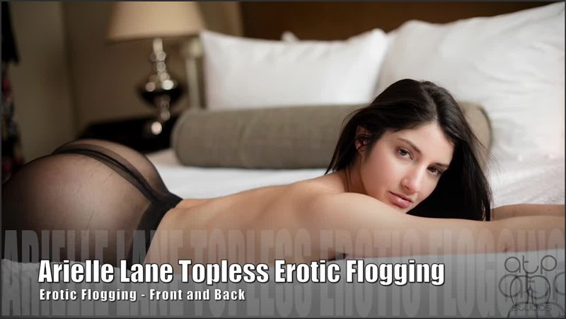 Arielle Lane Topless Erotic Flogging - Flogged Front And Back - assumethepositionstudios - HD/MP4 - image1