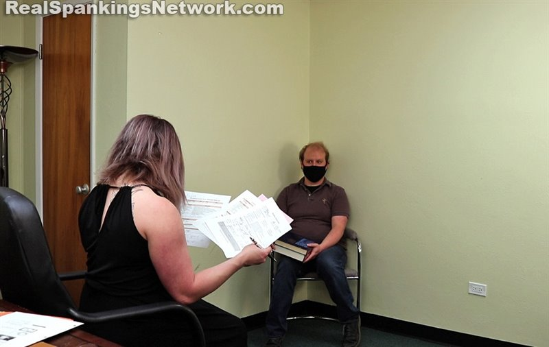 Austin's Review With Miss Betty (part 1 Of 4) - women-spanking-men - Full HD/MP4 - image1